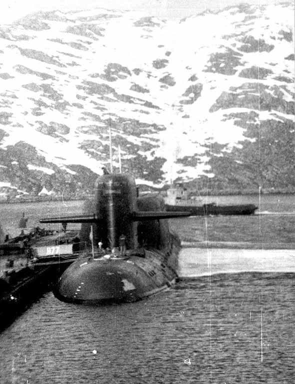 к-424 подводная лодка